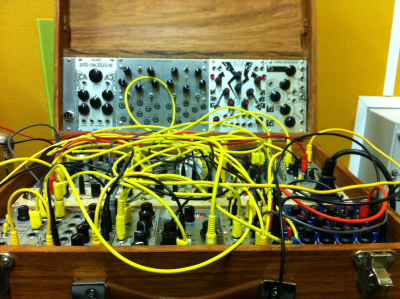 John Chantler's modular synth